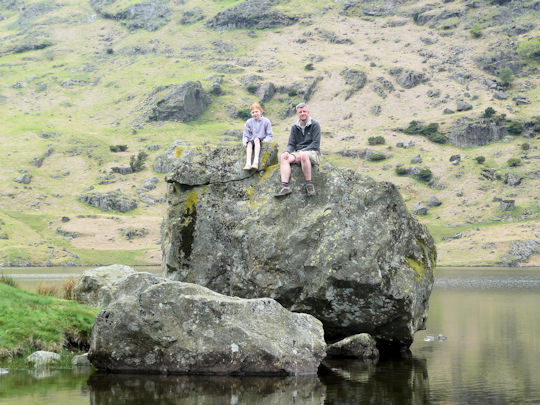 At Easedale Tarn